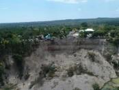 Dusun Dompu Indah, Kecamatan Kayangan Kabupaten Lombok Utara yang longsor akibat gempa susulan bermagnitudo 6,2 - foto: Istimewa