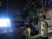 Pemutaran film karya sineas muda Indonesia di Lumintang, Denpasar - foto: Ari Wulandari/Koranjuri.com