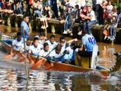 Kejuaraan dayung  TNI Dragon Boat Race 2018 - foto: Istimewa