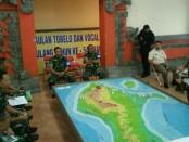 Latihan Posko I Penanggulangan Bencana yang digelar Makorem 163/Wira Satya - foto: Istimewa