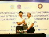 Foto bersama usai penandatanganan LOCA Bandar Udara Ngurai Rai, Bali - foto: Ari Wulandari/Koranjuri.com