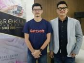 Reza, Cofounder dan CEO Getcraft Indonesia (kiri) dan Khrisna Kartika Putra, Founder dan Presiden Direktur Roki - foto: Koranjuri.com