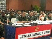 Satgas Pamwil 1 (Bali) dikomandani oleh Pangdam IX/Udayana Mayjen TNI Benny Susianto - foto: Istimewa