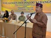 Sekda Kota Denpasar, AAN. Rai Iswara memberi sambutan dalam TAN DPN Peradah Indonesia - foto: Ari Wulandari/Koranjuri.com