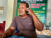 Ambyah Panggung Sutanto, Kades Ketangi, Purwodadi, Purworejo - foto: Sujono/Koranjuri.com