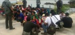 40 TKI Ilegal yang Dipulangkan Dari Malaysia ke Batam Diamankan TNI AL