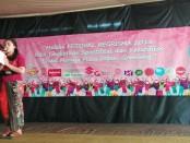 Perlombaan MC berbahasa Bali dalam Festival Regrisma 2018 - foto: Koranjuri.com