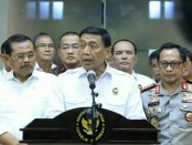 Menteri Koordinator Politik, Hukum dan Hak Asasi Manusia Wiranto - foto: Istimewa