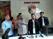 Polda Metro Jaya mengungkap kasus pencurian dan penipuan - foto: Bob/Koranjuri.com