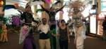 Merasakan Suasana 'Mencekam' di Bandara Ngurah Rai, Ada Karnaval Hantu!
