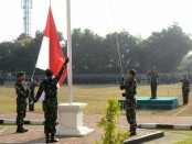 Upacara Peringatan Sumpah Pemuda yang digelar di Lapangan Makorem 163/Wira Satya - foto: Istimewa