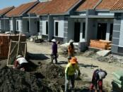 Ilustrasi Sektor properti seperti pembangunan perumahan mengalami perlambatan/lesu - foto: Ari Wulandari/Koranjuri.com