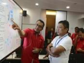 Penjelasan kesiapan jaringan TelkomGroup dalam turut mendukung pertemuan IMF-WB 2018 di Bali - foto: Ari Wulandari/Koranjuri.com