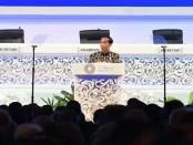 Presiden RI Joko Widodo menyampaikan sambutan pada Opening Plenary Pertemuan Tahunan IMF-World Bank di BNDCC I, Nusa Dua Bali, Jumat, 12 Oktober 2018 - foto: Istimewa