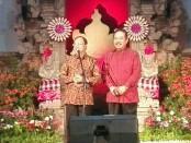 Gubernur Bali I Wayan Koster (kiri) bersama Wakil Gubernur Bali Tjokordha Oka Artha Ardhana Sukawati (Cok Ace) - foto: Koranjuri.com