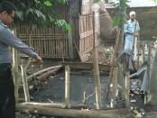 Di kolam pembuangan limbah inilah, Muhamad Hamzalah Al jawi tewas - foto: Sujono/Koranjuri.com