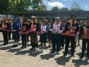 Penyerahan medali PORSENIJAR Ke-6 Tahun 2018 YPLP PGRI Kota Denpasar kepada para pemenang - foto: Istimewa