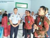 Kepala Kantor Wilayah Kementerian Hukum dan HAM Jawa Tengah, Dewa Putu Gede, saat mengunjungi Rutan Kelas II B Purworejo, Kamis (1/11) - foto: Sujono/Koranjuri.com