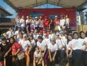 Perusahaan penyedia jasa layanan telekomunikasi berteknologi 4G LTE, PT. Smartfren Telecom, Tbk., menggelar 'Smartfren Semeton Buleleng' bersama Bali United di Singaraja - foto: Istimewa