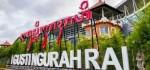 Bandara Ngurah Rai Pasang Aksara Bali Berukuran Jumbo