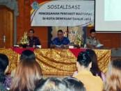 Sosialisasi pencegahan penyakit masyarakat di Kota Denpasar, Rabu (7/11/2018) - foto: Istimewa