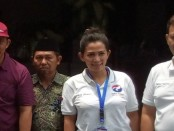 Ketua tim pemenagan sahabat Henri Indraguna, Lilia Jatmiati, SH - foto: Koranjuri.com