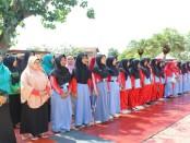 Peserta napak tilas  SMK Kesehatan Purworejo - foto: Sujono/Koranjuri.com