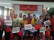 Pemenang lomba mewarna tingkat PAUD HUT PGRI Denpasar bekerjasama dengan Faber-Castell - foto: Ari Wulandari/Koranjuri.com