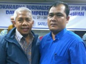 Wakil Ketua Dewan Pers, Ahmad Djauhari dan Toro - foto: Istimewa