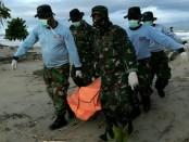 Tim SAR gabungan masih menemukan korban tewas di pantai Pandeglang dan Serang - foto: Istimewa