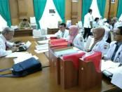 Suasana survei simulasi akreditasi, yang dilakukan surveior KARS (Komisi Akreditasi Rumah Sakit), di RSUD Dr. Tjitrowardojo Purworejo, dari Senin (3/12) hingga Jum'at (7/12) - foto: Sujono/Koranjuri.com