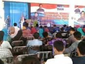 Suasana Rakor dan konsolidasi kader Partai Demokrat dan sosialisasi pemilu 2019, Minggu (16/12), di pendopo Hotel Ganesha, Purworejo - foto: Sujono/Koranjuri.com