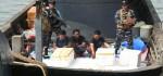 7.000 Ekor Ketam Ladam Gagal Diselundupkan ke Thailand