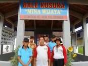Pelaku Usaha Kelautan dan Perikanan memanfaatkan Bale Kusuka yang dibangun Kementerian Kelautan dan Perikanan - foto: Istimewa