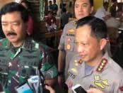 Panglima TNI Marsekal TNI Hadi Tjahjanto bersama Kapolri Jenderal Tito Karnavian - foto: Istimewa