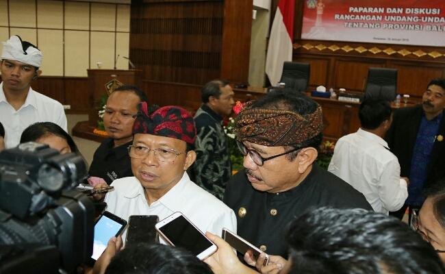 RUU Provinsi Bali yang Diperjuangkan Koster Dapat Aplaus Banyak Pihak