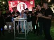 Perayaan HUT Ke-1 Himpunan Bartender Indonesia (HBI) Wilayah Bali di Sand Beach Bar, Sanur - foto: Koranjuri.com