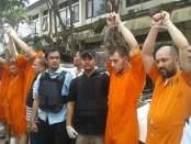 5 warga Bulgaria Ditangkap Polda Bali dalam kasus kejahatan Skimming - foto: Istimewa