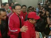 Basuki Tjahaja Purnama (BTP) atau Ahok berkunjung ke kantor DPD PDIP Bali. Ahok resmi jadi kader PDIP sejak 25 Januari 2019 - foto: Istimewa