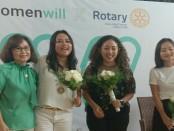 Seminar leadership perempuan bertema 'Be the Inspiration' yang diadakan Rotary Club of Bali Taman District 3420 menggandeng Google Business Group WomenWill - foto: Istimewa