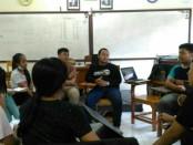 Pengurus Dewan Ambalan Pattimura Martha Christina Tiahahu Gugus Depan 04.01-04.02 SMK Farmasi Saraswati 3 Denpasar - foto: Istimewa