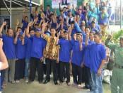 Penyampaian visi misi dalam Pilkades Wonorejo, Jatiyoso, Karanganyar, Jawa Tengah - foto: Media/Koranjuri.com