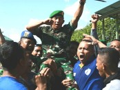 Simulasi Latihan Pengaman Tahapan Pileg dan Pilpres Tahun 2019 di Lapangan Praja Raksaka Kepaon Denpasar, Rabu, 20 Februari 2019 - foto: Istimewa