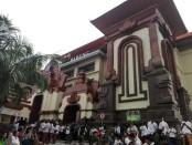Paska terbakar pada 2016 lalu, Pasar Badung beroperasi kembali pada 24 Februari lalu dan  diresmikan presiden Joko Widodo pada Jumat, 22 Maret 2019 - foto: Koranjuri.com