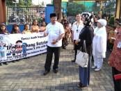 Bambang Sutrisno, anggota Komisi X DPR RI dari Partai Golkar, saat berada di SDN Grantung, Bayan, Purworejo, Sabtu (23/3/2019) - foto: Sujono/Koranjuri.com