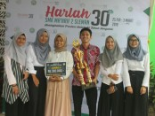 Grup Saka Kustik dari SMK Kesehatan Purworejo, meraih juara tiga dalam Lomba Akustik tingkat Jateng-DIY, yang digelar dalam rangka peringatan Hari Lahir SMK Ma'arif 2, Sleman Yogyakarta - foto: Sujono/Koranjuri.com