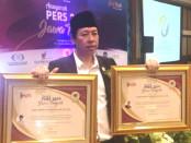 Keterangan foto: Dua anugerah  dalam Pers Award di berikan kepada HI/ Foto: Istimewa