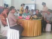 Walikota Tangsel Airin Rachmi Diany  didampingi Dandim 0506/Tgr Letkol Inf Faisol Izuddin Karimi - foto: Istimewa