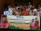 Pengurus Gerakan Pramuka  Kwartir Daerah Bali menggelar temu kangen Pramuka dan Pandu Werda di Ruang Rapat Ka Kwarda Bali, Jumat, (12/4/2019) - foto: Istimewa