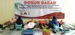 Donor Darah MA An Nawawi Berjan,  Warnai Peringatan Isra' Mi'raj dan Hari Kartini